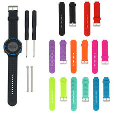 Replacement Soft Silicone Watch Strap Band for Garmin Forerunner 230 235 630 735
