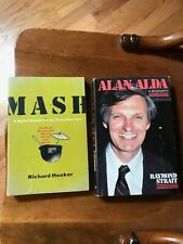 Mash by Richard Hooker Book Lot Alan Alda Biography