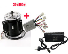 36V 800W Brush Motor + Speed Controller 1.8A Charger Electric Scooters Bicycle