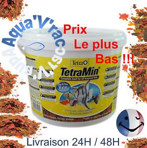 Flocons Tetramin nourriture aliment pour poissons d'aquarium