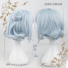 Fairy Baby Blue Princess Wig Lolita Cosplay Short Dolly Wig Sweet Harajuku