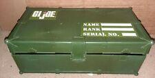 "GI Joe Footlocker Storage Case for 12"" Figures"