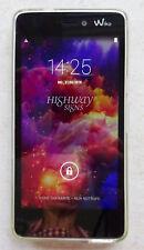 Wiko Highway Signs - 8GB - Grau (Ohne Simlock) Smartphone - Dual Sim