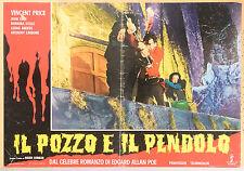 FOTOBUSTA 1, IL POZZO E IL PENDOLO (THE PIT AND THE PENDULUM) PRICE, CORMAN