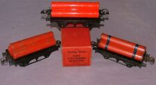 Hornby Trains 0 Gauge  Gas Cylinder Wagons (x3) - 1x Boxed
