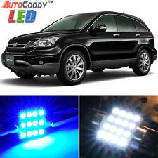 8 x Premium Blue LED Lights Interior Package Kit for Honda CR-V 2007-2011 + Tool