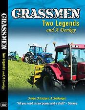 GRASSMEN TWO LEGENDS & A DONKEY DVD 2014 FARMING DVD
