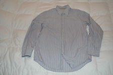 Authentic Banana Republic Lavender Casual Dress Long Sleeve Shirt Mens Size XL