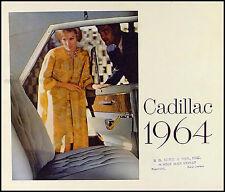1964 Cadillac Sales Catalog Deville Eldorado Fleetwood Series 60 62 75 Original