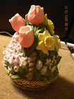 Partylite Floral Bouquet Tealight Holder P7747 Flower Candle
