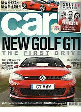CAR MAGAZINE, APRIL, 2013  NEW GOLF GTI THE  FIRST DRIVE * NEW FERRARI vs NEW Mc