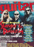 NOV 1994 GUITAR SCHOOL vintage music magazine SLAYER and DANZIG