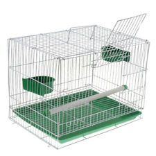 Pet Bird Cage with Stand Stick & Bowls for Small Parrot Parakeet Conure