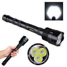 Vastfire 6000LM 1Mode High 3x XML T6 LED Flashlight Hunting Light Torch NEW