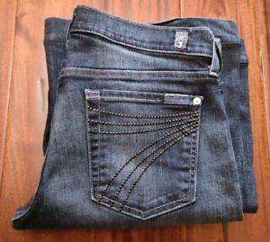 7 for Mankind Jeans Flared Cut Women's 28 Waist Dojo