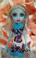 Mattel Monster High Doll Blue Abbey Abby Bominable hair Snowman Girl