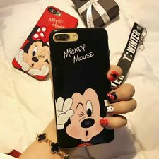 MICKEY and MINNIE (BLACK Case) for iPhone 6S 6G
