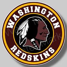 Washington Redskins Football Vinyl Sticker Decal Truck Car Window NFL football