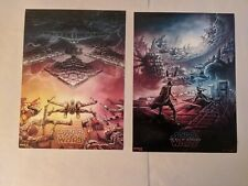 Star Wars The Rise Of Skywalker AMC IMAX Poster🔲#2🔲#1🔲 SHIPPED FLAT