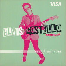Elvis Costello Visa Signature RARE 11 track promo CD sampler '07