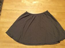AX ARMANI EXCHANGE Brown Rayon Full Mini SKIRT size 4 / 6