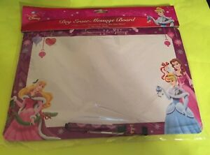 Walt Disney Dry Erase Message Board - Cinderella - Aurora - Belle - New