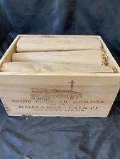 Romanee Conti  Wood Wine Box