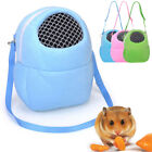 Pet Backpack Carrying Squirrel Chinchilla Cotton Nest Shoulder Bag with Mesh