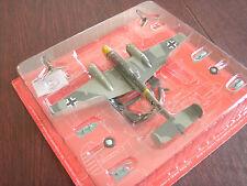 Aircraft Die-Cast Scale 1/72 WWII German Military Plane Messerschmitt Bf-110
