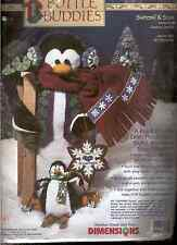 DIMENSIONS BOTTLE BUDDIES FELT CRAFT KIT WOOSH & SLIDE CHRISTMAS PENGUIN