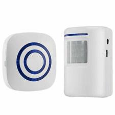 Home Security Alarm Wireless Driveway Alert Infrared Motion PIR Sensor Receiver
