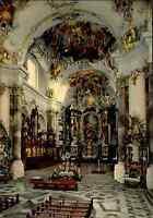 Kirchen Bauwerke Kirche Abteikirche in Ottobeuren Innenansicht color ungelaufen