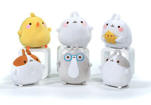 Molang Friends Super Soft Plush Toy Rabbit Beanie Kids Piu Piu Baigo Kawaii