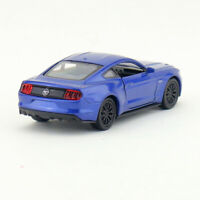 Ford Mustang GT 2015 1:36 Scale Model Car Diecast Gift Toy Vehicle Kids Blue