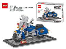 Blue  Motorcycle Nano Block Dr.star Diamond Building Block Mini Block Toys Gift