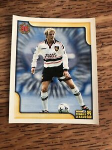Rare David Beckham Football Sticker (collectors Award)