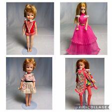 New ListingVintage Lot of 2 Penny Bright & 2 Dawn Topper Dolls 1960s-1970s Original clothes
