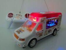 Radio Remote Control RC Van Car Ice Cream Resturant Van Music Party Lights @@RED