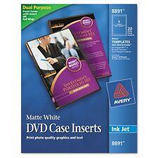 Avery DVD Case Inserts - 8891
