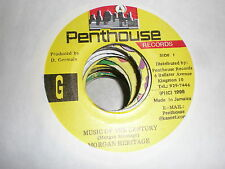 Morgan Heritage 45 Music Of The Century PENTHOUSE RECORDS
