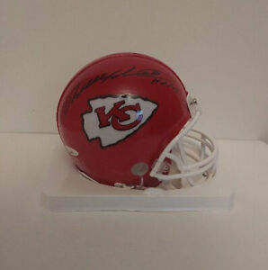 Will Shields Autographed Signed Mini Helmet - Chiefs Hall Of Fame w/TriStar COA