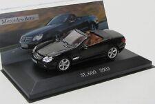 Mercedes Benz SL 600/r230 (2003) negro/Ixo 1:43