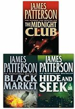 JAMES PATTERSON __ 3 LIVRE JEU __ NEUF __ FREEPOST UK