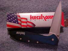 Kershaw 1660 BB Folding Knife Blue Smoke Handle Leek New Box DISCONTINUED  mLAO