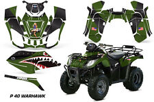AMR Racing Arctic Cat Utility 250 ATV Graphic Kit Wrap Decal Sticker 06-09 WARHK