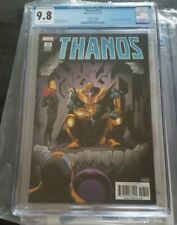 Thanos #13 2nd Print CGC 9.8 White Pages - 1st Appearance of Cosmic Ghost Rider