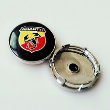 4 Pcs Car Wheel Center Hub Cap 60mm Abarth Wheels Badge emblem covers scorpion