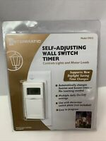 Intermatic Self Adjusting Wall Switch Timer ST01C Conserves Energy