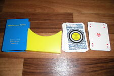 CONTINENTAL REKLAME KARTENSPIEL -- Skat Spielkarten ca 1960er von GUMMI REEB