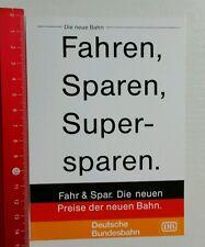 Aufkleber/Sticker: DB Deutsche Bundesbahn - Die neue Bahn (060716159)